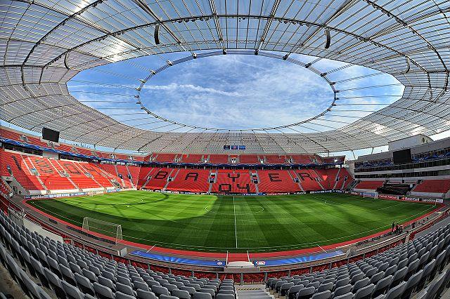 Fußballstadion Leverkusen