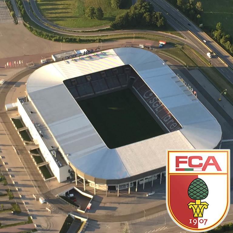 Die WWK Arena in Augsburg