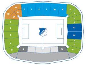 Olympiastadion München Sitzplan
