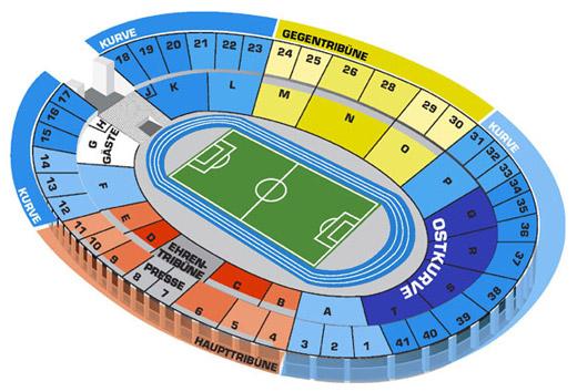 Hertha Bsc Stadionplan